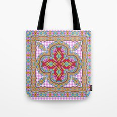 Mix&Match;  Pretty Pink Mandala Meditation pillow 01 Tote Bag