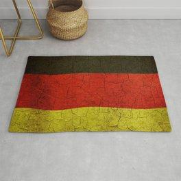 Cracked Germany flag Rug