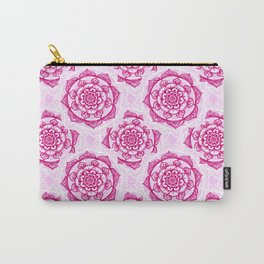 Candy Floss Mandala Carry-All Pouch