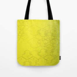 Tire Mark Tote Bag
