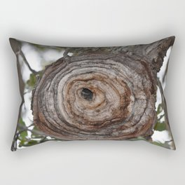 Cinnamon Bun Tree Rectangular Pillow