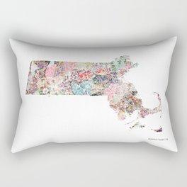 Massachusetts Rectangular Pillow