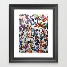 Interlaced Framed Art Print