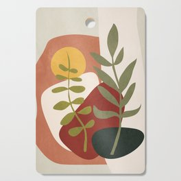 Two Abstract Branches Cutting Board