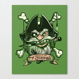Pirate Radio Canvas Print