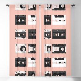 Cassette Pattern #3 Blackout Curtain