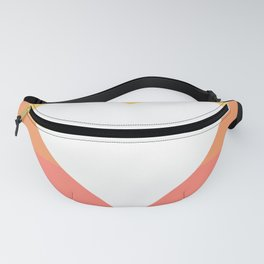 Three Colored Heart Fanny Pack