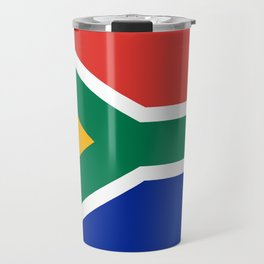 Flag of South Africa, Authentic color & scale Travel Mug