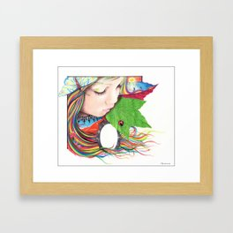 If Mother Earth Was a Child... Framed Art Print