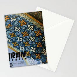 Affiche Travel Poster Iran Persia Masjid-I-Shah Isfahan Arcades Stationery Cards