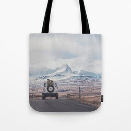 NEVER STOP EXPLORING ICELAND Tote Bag