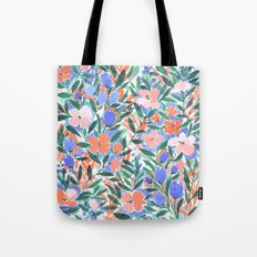 Nonchalant Coral Tote Bag