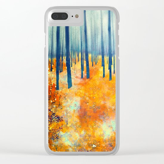 Late Autumn Clear iPhone Case