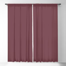 Burgundy Red Trending Solid Color  - Hue Dutch Boy 2021 Color of the Year Accent Shade Mulberry Tree Blackout Curtain