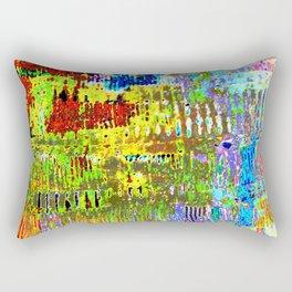 Yellow Lines S41 Rectangular Pillow