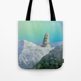 This is Not Easter Island Tote Bag