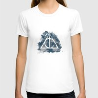 ravenclaw T-shirts featuring The Deathly Hallows (Ravenclaw) by FictionTea