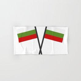 Bulgarian flag Hand & Bath Towel