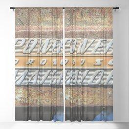 Fordson Major Sheer Curtain