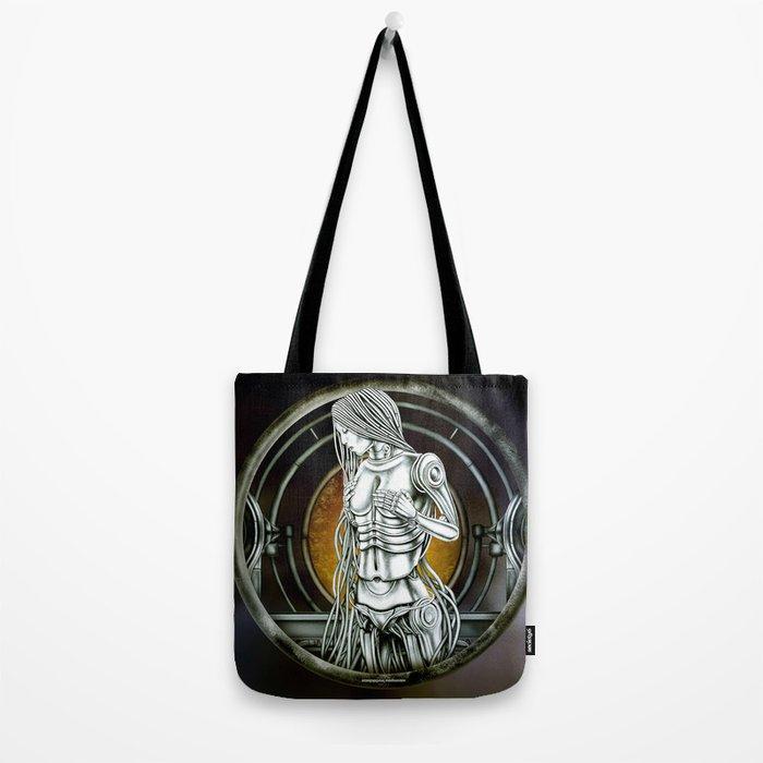 """Astrological Mechanism - Virgo"" Tote Bag"