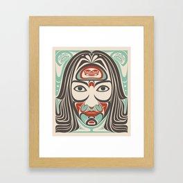 Indjánanna Framed Art Print