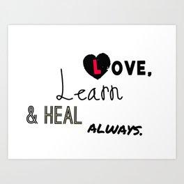 Mantra for Everyone Art Print