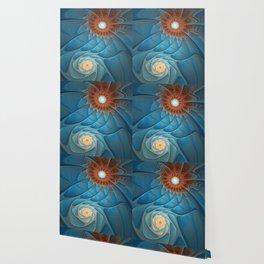 Together, Abstract Fantasy Fractal Art Wallpaper