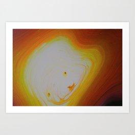 Manatee Super Nova Art Print