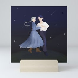 Howl & Sophie (under the stars) Mini Art Print
