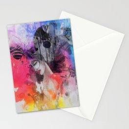 black butterflies Stationery Cards