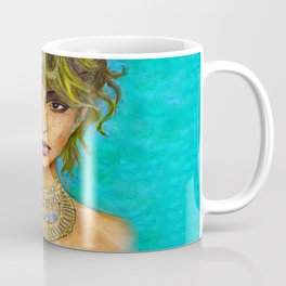 Freckled Beauty Coffee Mug