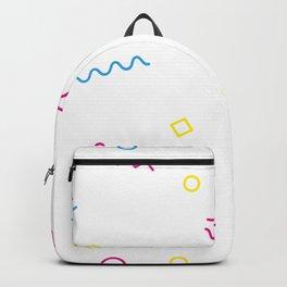 Modern Geometric Art Prints Backpack
