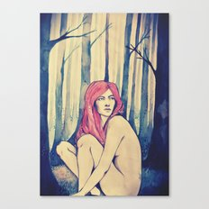 Can you hear the trees talking? Canvas Print