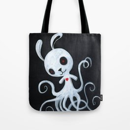 bunnnypus in the dark Tote Bag