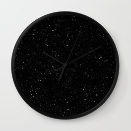 Space Stars Wall Clock