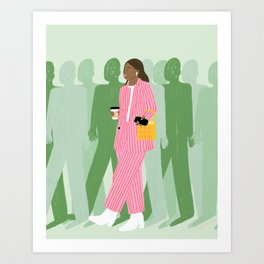 Girl Boss Art Print