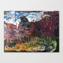 Dreaming in technicolour Canvas Print