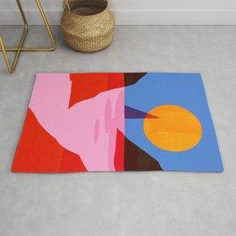 Abstraction_MOONLIGHT_Sailing_Minimalism_001 Rug