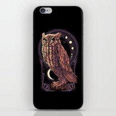 Owl Nouveau iPhone Skin