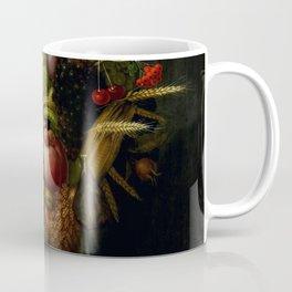 "Giuseppe Arcimboldo ""Holy Roman Emperor Rudolf II re-imagined as Vertumnus"" Coffee Mug"
