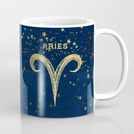 Aries Zodiac Sign Coffee Mug
