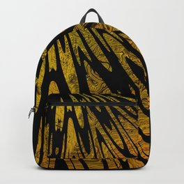 Native Tapestry in Gold Backpack