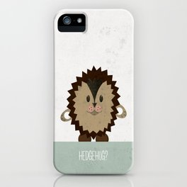 Hedgehug iPhone Case