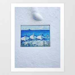 Seascape 3 Art Print