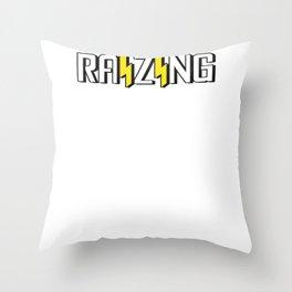 Raizing Logo Throw Pillow