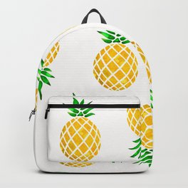 Beautiful Pineapple Pattern Backpack