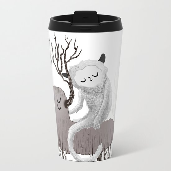 November Metal Travel Mug
