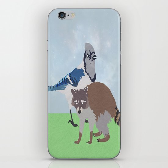 Mordecai and Rigby iPhone & iPod Skin