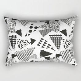 Geometric in Memphis Rectangular Pillow
