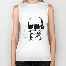 Hunter S Thompson Men Women Fear and Loathing in vegas Biker Tank